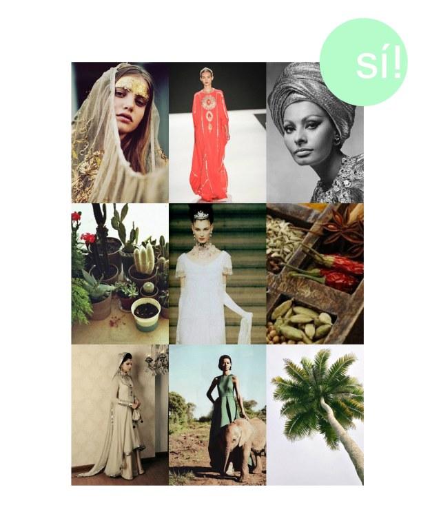 1. Vía blog.miishka.com  2. Naeem Khan  3. Vía shoot Style 4. Vía Otaduy 5. Givenchy Haute Couture FW 1997  6. Via delicatessen 7. Vía Pinterest 8. Vía Style Files 9. Vía daily inspirations