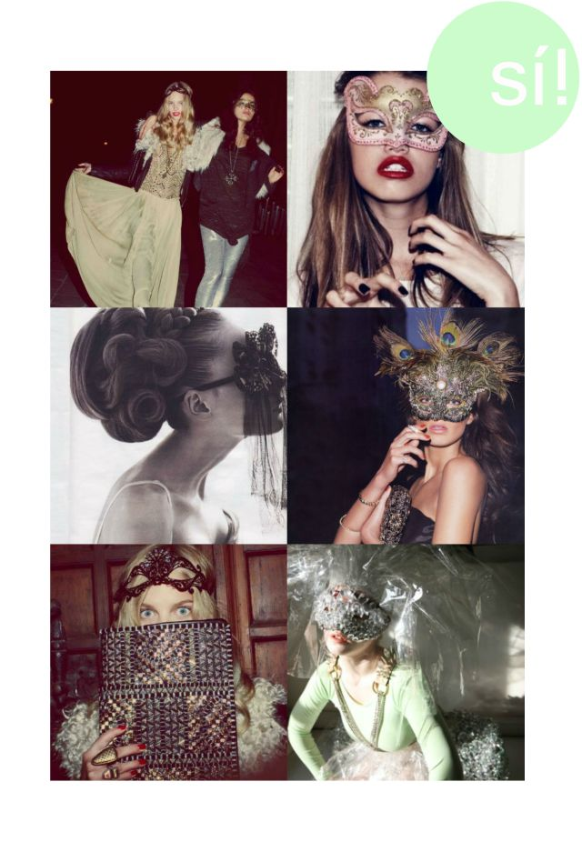 1. I love wildfox  2. Vía chictopia.com  3. Vía  weheartit.com  4. Daria Werbowy by Terry Richardson Vogue Paris   5. I love wildfox  6. Vía Pinterest