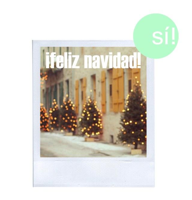 feliz navidad si al si quiero