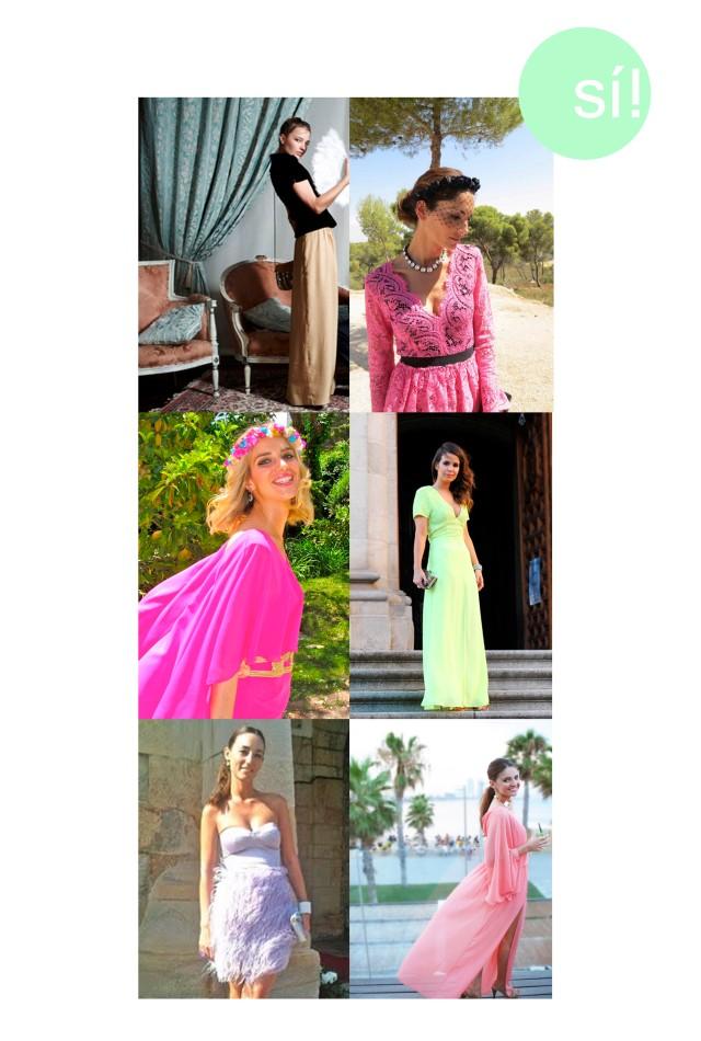 1. Patricia Nicolás 2. Eugenia Silva 3. Teresa Baca 4. Collage Vintage 5. Porque nosotras lo valemos 6. Stylissim