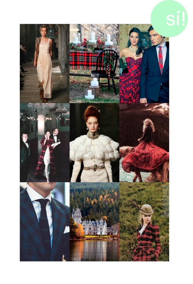 1. Chanel Pre Fall 2013   2. Desde houzz.com  3. Desde sparklesandpretending.tumblrcom    4. Vogue   5. Chanel Pre Fall 2013   6. Heather Marks in Flare Magazine by Chris Nicholls   7. Desde Pinterest   8. Ardverikie, Scotland   9. Desde Pinterest