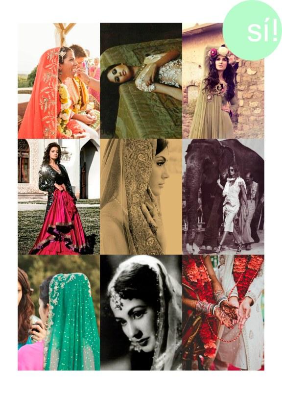 1. 3deseosymedio  2.    3. Vía Pinterest  4. Dia Mirza en Vogue   5. Desde fashionserved.com  6. Desde model.com  7. 3deseosymedio   8. Meena Kumari or Mahjabeen Bano  9. desde Pinterest
