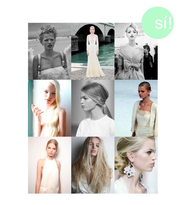 1. By Peter Lindbergh 2. Givenchy 3. Backstage Christian Dior Haute Couture 4. Vía themodelscout.tumblr 5. Vía stoul.tumblr 6. Chanel 7. Vía bubbelsoda.tumblr 8. Vía Pinterest 9. Vía weheartit