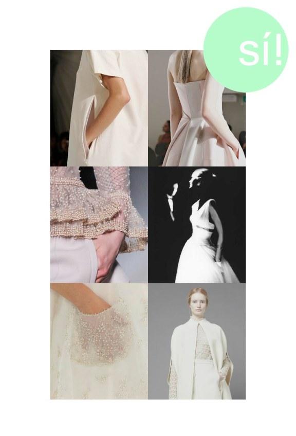 1. 25.media.tumblr.com, 2. Jil Sander, 3. Vía Pinterest, 4. By Lillian Bassman, 5. opheliasgarden.tumblr.com, 6. Valentino