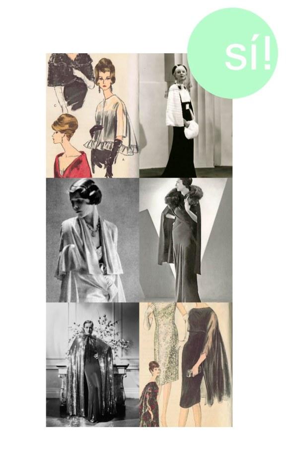 1. Vía Pinterest, 2. Vía Pinterest, 3. Vogue UK, 4. Vía Pinterest, 5. Joan Crawford, 1930s, 6. Vía Pinterest