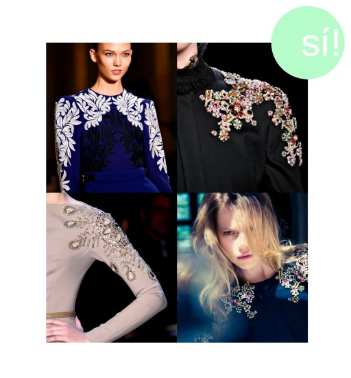 1. Stella McCartney, 2. Jason Wu, 3. fashionindetails.tumblr.com, 4. Salt Magazine
