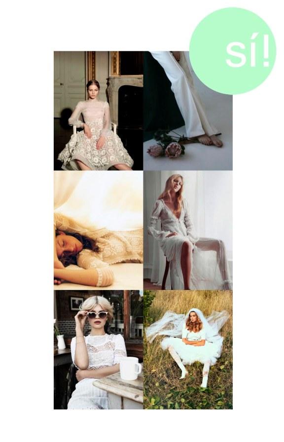 1. Sasha Luss in Valentino Haute Couture, 2. bienenkiste.tumblr.com 3. Vía Pinterest, 4. Vía Pinterest, 5. Pixie Geldoff, 6. Daria Werbowy for Vogue Paris