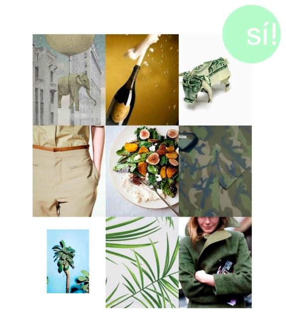 1. Vía Pinterest, 2. la-la-la-bonne-vie.tumblr.com, 3. orudorumagi11.deviantart.com, 4. Chloé, 5. vía  Pinterest, 6.Valentino camouflage colection, 7. justifiedmag.co.uk, 8. Zara Home SS13, 9. Thesartorialist.com