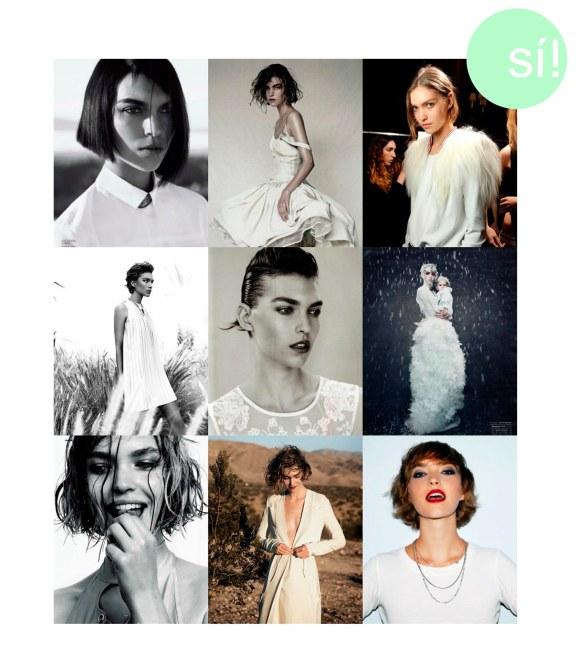 1. Vía pinterest, 2. Vogue China April 2011, 3. style.com, 4. Vía pinterest, 5. Vía pinterest, 6. www.styling-deluxe.com, 7. blog.maisonacademia.com, 8. Peter Lindberg for Vogue US, 9. Arizona Muse para Tom Ford