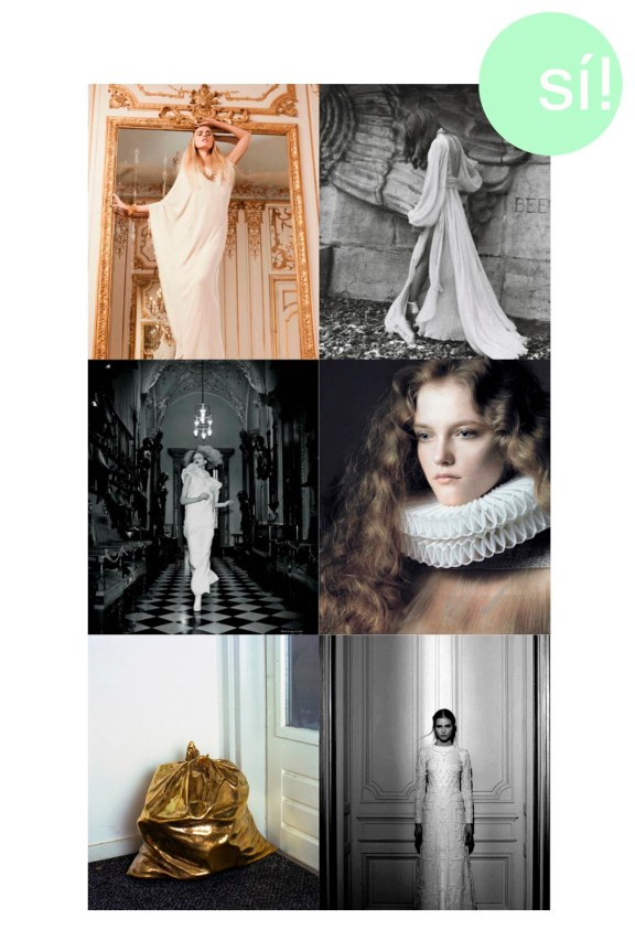 1. Vía Pinterest, 2. Marike Le Roux by Edouard Plongeon, 3. Vía Pinterest, 4. deprincessed.tumblr.com, 5. sheswildatheart.blogspot.com, 6. haroldnmod.tumblr.com