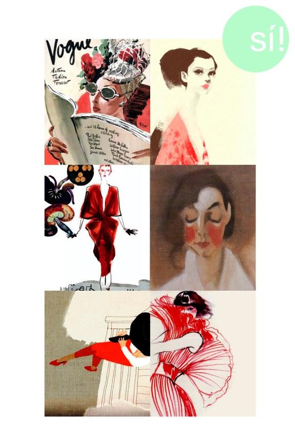 1. Vogue, 2. felixinclusis.tumblr.com, 3. arcstreet.com, 4. Helene Schjerfbeck, 5. soulist-aurora.tumblr.com, 6. Vogue UK