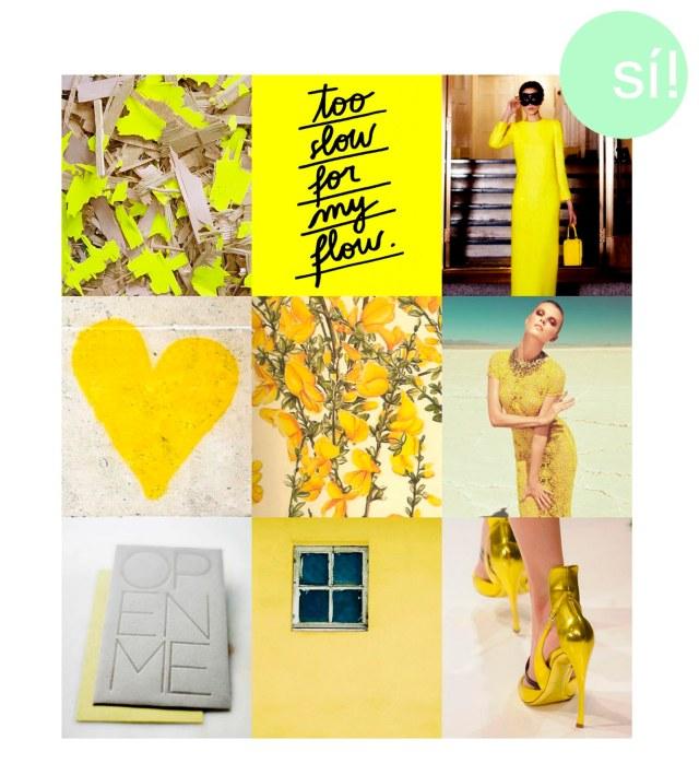 amarillo si al si quiero