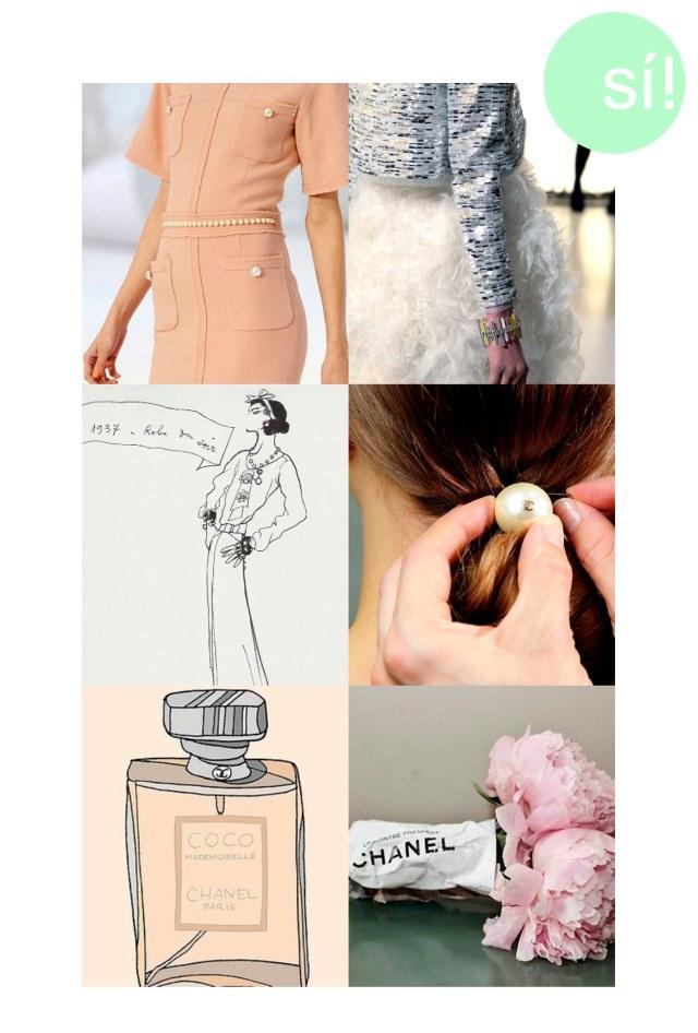 1 y 2. Chanel 3. Pinterest 4. Chanel 5 y 6. Pinterest