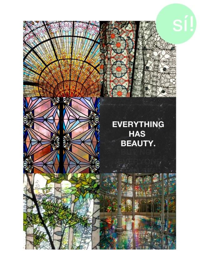 1. Palau de la Musica Catalana 2. Alexander McQueen 3, 4, 5 y 6 Vía Pinterest