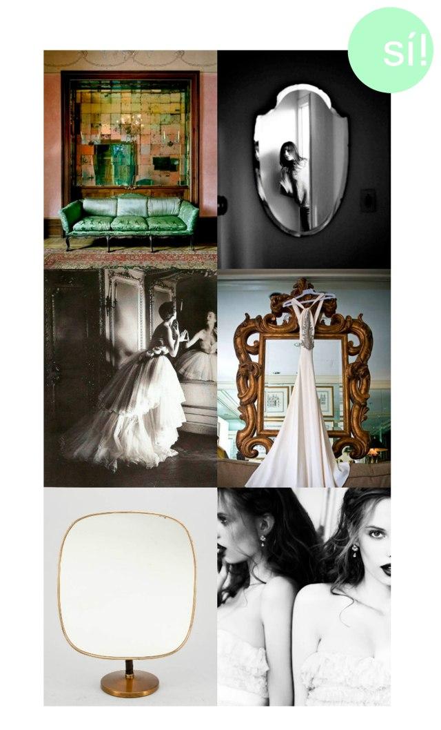 1. Pinterest 2. Charlotte Gainsbourg by Kurt Iswarienko 3. Pinterest 4. ruffledblog.com 5 y 6. Pinterest