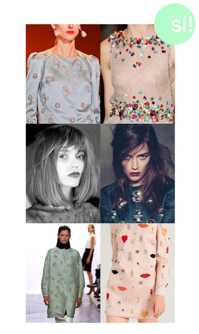 1. Pinterest 2. Jenny Packham 3. enfemenino.com 4. marlena skoza in louis vuitton 5. Giambattista Valli 6. Stella McCartney