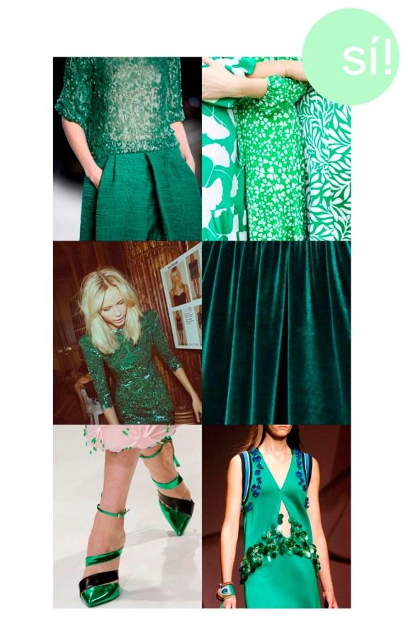 1. Akris, 2. Diane Von Furstenberg, 3. Vía Pinterest, 4. lulufishpaw.tumblr.com, 5. Christian Dior, 6. Prada