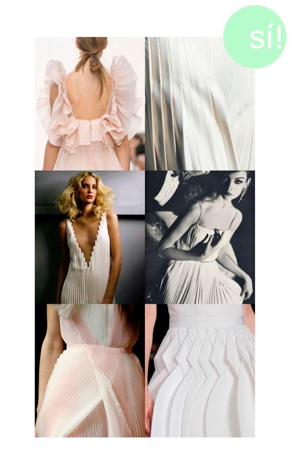 1. Chloé, 2 y 3. Pinterest, 4. Jean Shrimpton by David Bailey, 5. Givenchy, 6. Viktor & Rolf