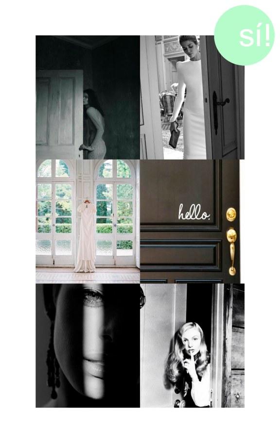 1. Irina Kravchenko by Julia Hetta, 2. scarflove.tumblr.com, 3. belleandchic.com, 4 y 5. vía pinterest, 6. Veronica Lake