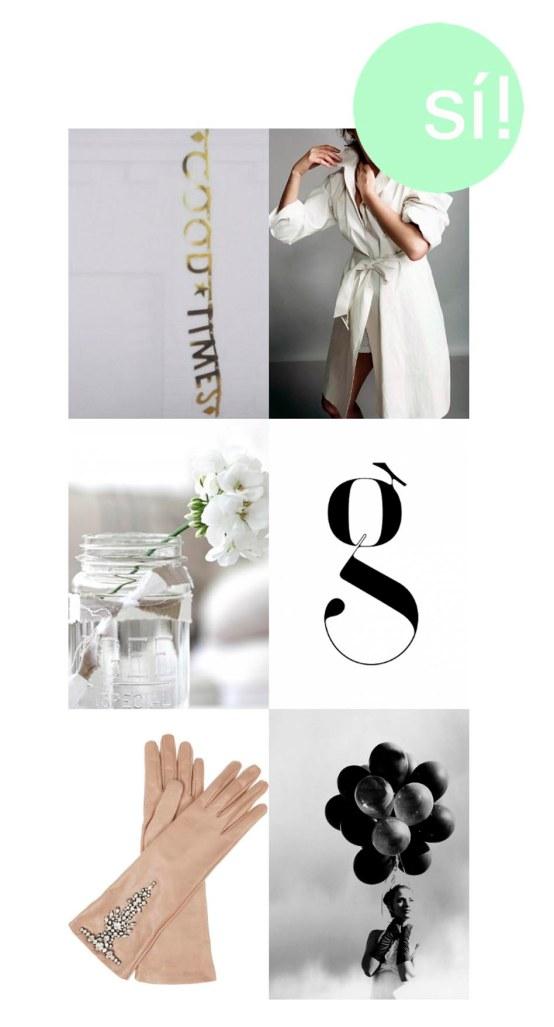 1. Pinterest, 2. simplebuttasteful.tumblr com, 3. aloha-beach.tumblr com, 4. designspiration net, 5. Valentino, 6. etsy.com