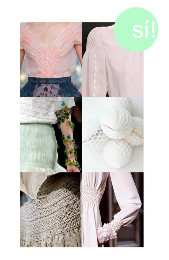 1. DelPozo, 2. Valentino, 3. Schiaparelli Spring Summer 2014 Couture, 4. maisonsblanches.tumblr.com, 5. marielou.posterous.com, 6. Valentino