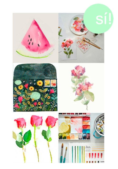 1. Pinterest, 2. inspired-design.tumblr.com, 3. Phoebe Wahl 2013, 4. micrapel.com, 5. sweet-tea-and-mimosas.tumblr.com, 6. makingitlovely.com
