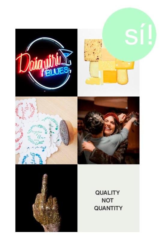 1. Quique González, 2. Photography & Imagery Carl Kleiner, 3. www.quilezstamps.com, 4. We do, 5. Pinterest, 6. light-shot.tumblr.com