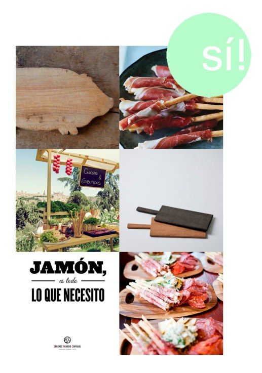 1. Pinterest, 2. epicurious.com, 3. Samantha de España, 4. Tomiyama Koichi, 5. Sánchez Romero Carvajal, 6. Pinterest