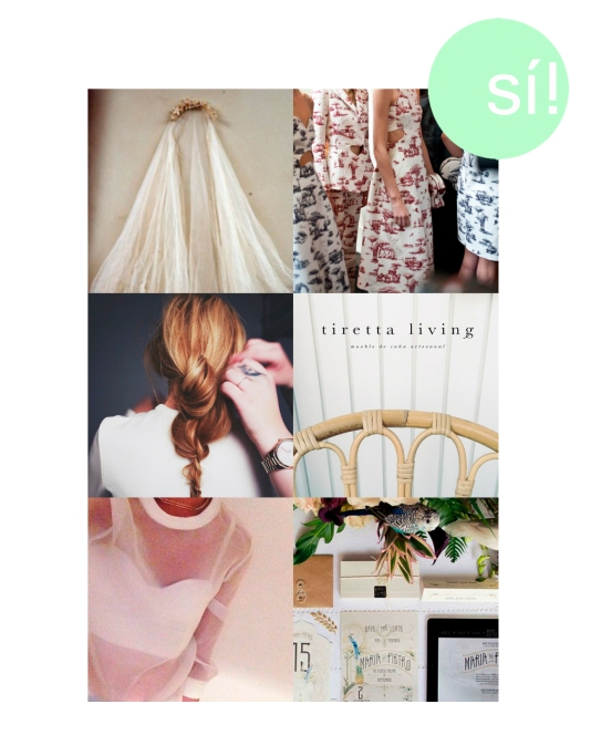1. mylusciouslife.com, 2. Carven SS 2013, 3.  camillapih.no, 4. Tiretta Living, 5. the-modette.tumblr.com, 6. Save the date
